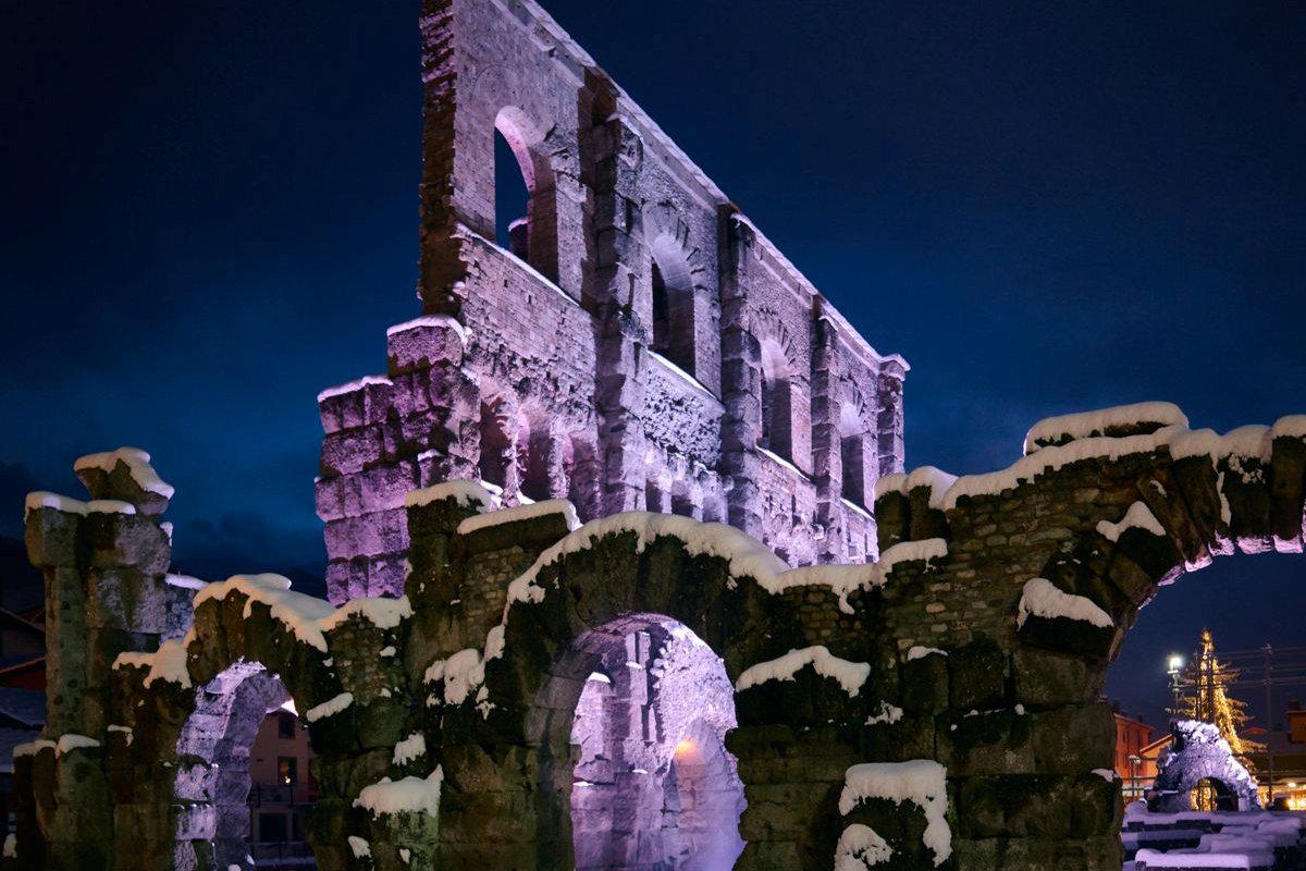 Aosta romana Inverno