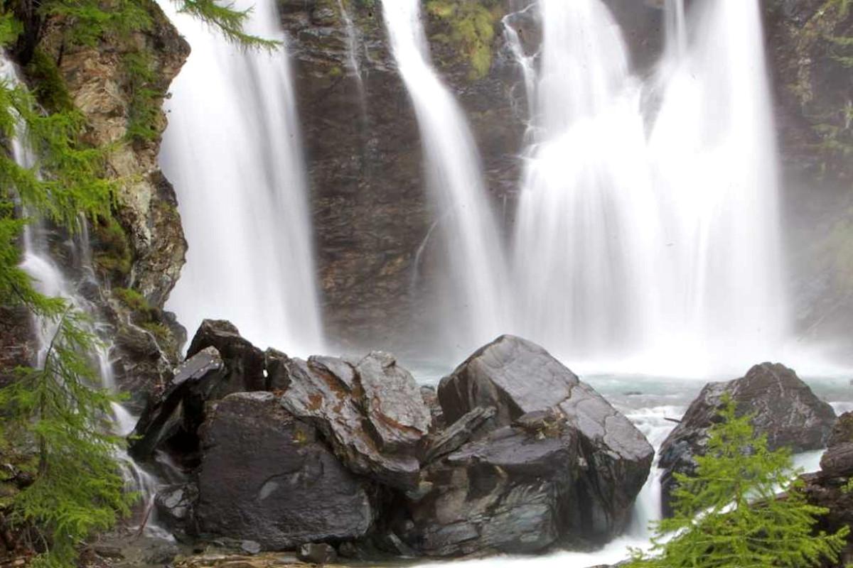 Cascades de Lillaz Été