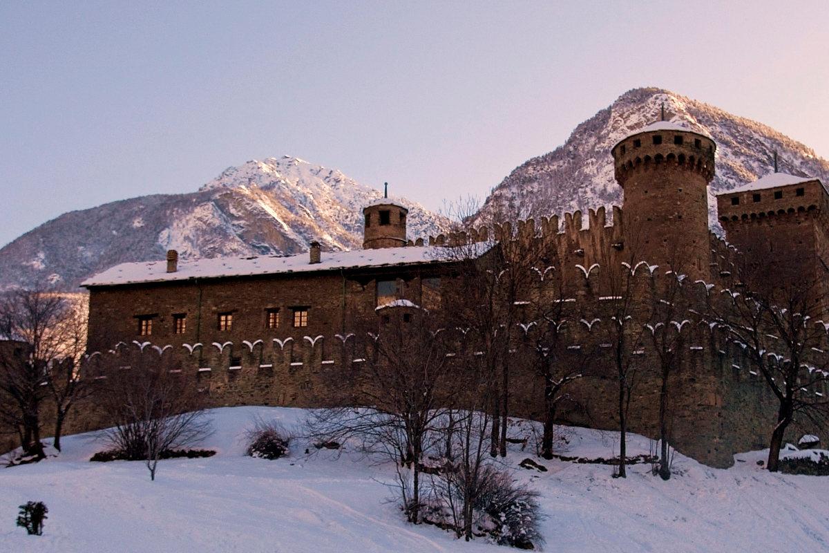 Châteaux du Val d'Aoste Hiver