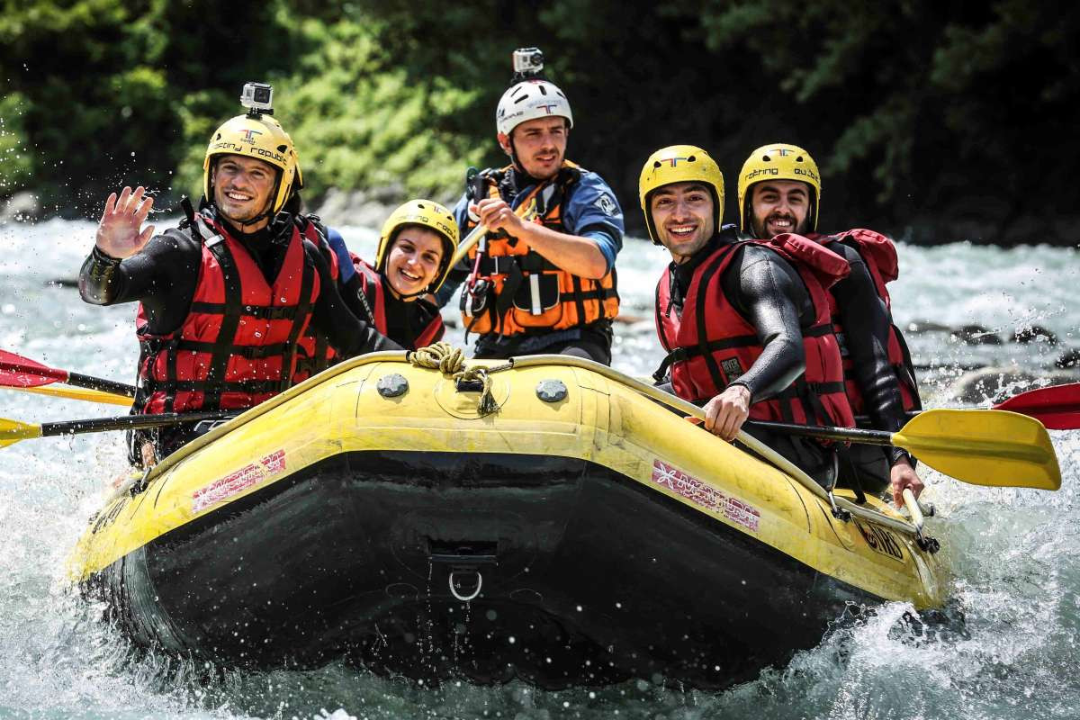 Rafting and hydro-speed Summer