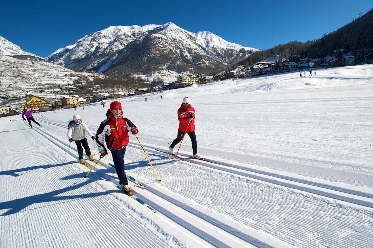 Cross country skiing Winter