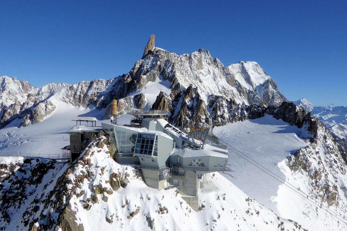 Skyway Mont Blanc Été