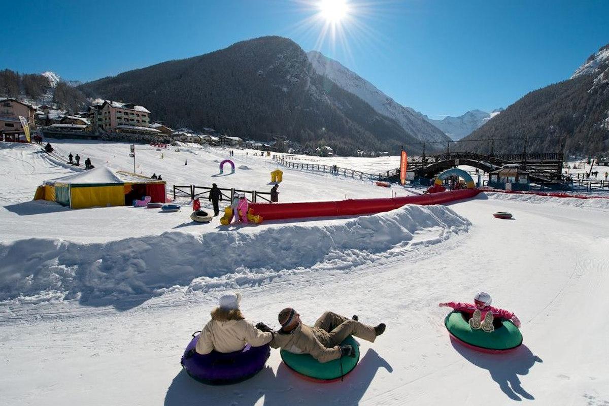 Snowpark de Cogne Hiver